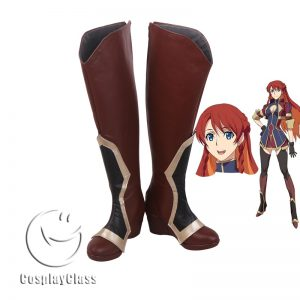 ReCreators Selesia Upitiria Brown Cosplay Boots