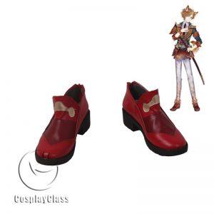 Sengoku Night Blood Sanada Yukimura Cosplay Shoes