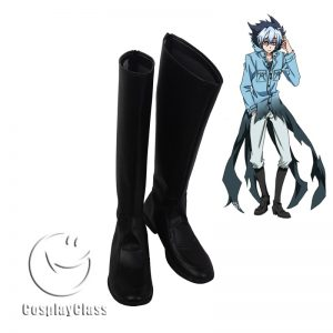 Servamp Kuro Sloth Black Cosplay Boots