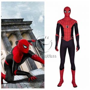 Spider-Man Far From Home Peter Parker Spider Man Cosplay Costume