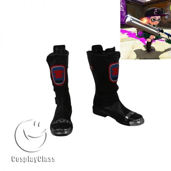 Splatoon inklin Cosplay Boots