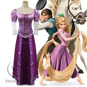 Tangled Rapunzel Cos Cosplay Costume