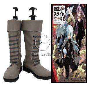 Tensei Shitara Slime Datta Ken Rimuru Cosplay Boots