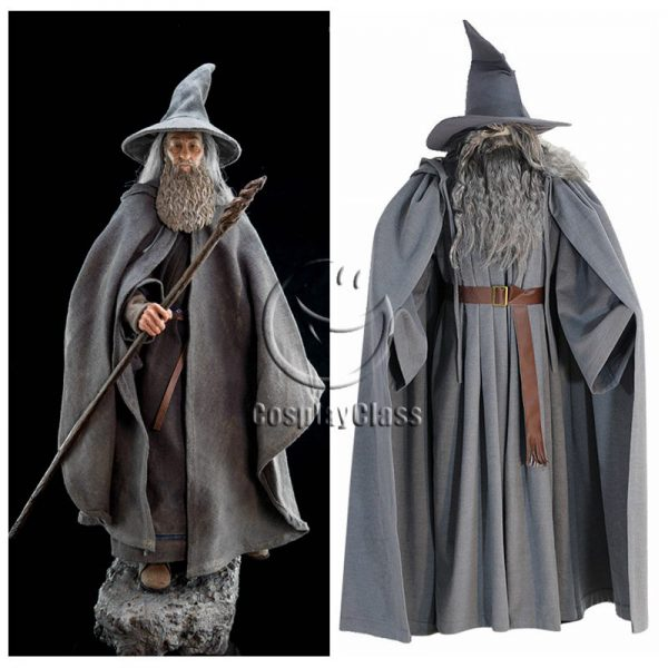 The Lord of the Rings The Hobbit Gandalf Cosplay Costume