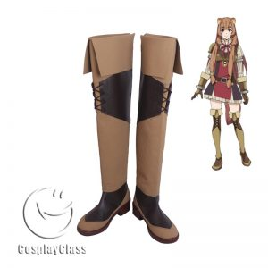 The Rising of the Shield Hero Raphtalia Brown Cosplay Boots