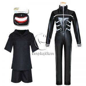 Tokyo Ghoul Kaneki Ken Cos Cosplay Costume