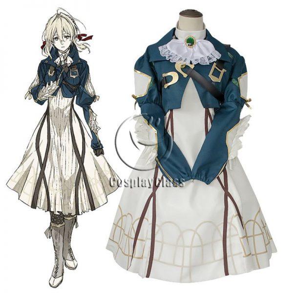 Violet Evergarden Cos Cosplay Costume
