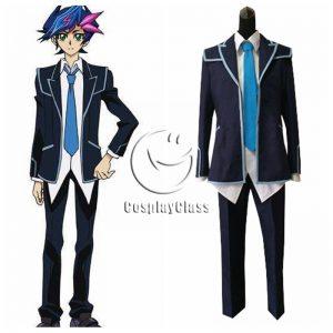 Yu-Gi-Oh! Vrains Fujiki Yuusaku Cosplay Costume