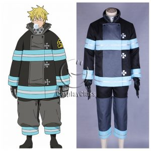 Fire Force Tooru Kishiri Cosplay Costume