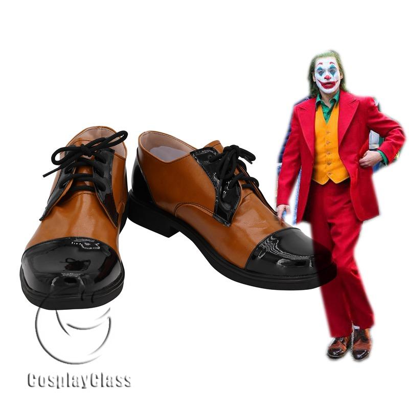 Joker Arthur Fleck 2019 Movie Cosplay Shoes