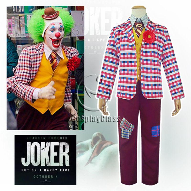 Joker 2019 Movie Arthur Fleck Cos Cosplay Costume