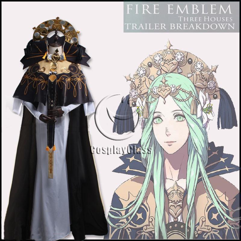 Fire Emblem Three Houses Rhea Cosplay Costume