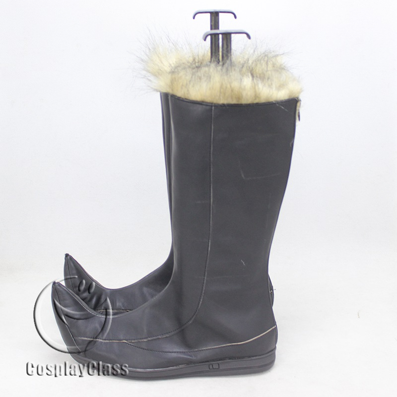 Details about  /Snow Queen Kristoff Halloween Long Cosplay Shoes Boots