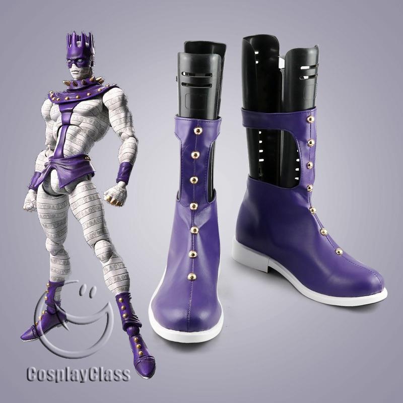 Jojo S Bizarre Adventure White Snake Cosplay Boots Cosplayclass