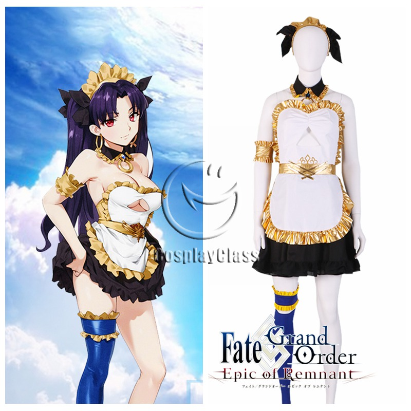 Fate Grand Order Fgo Ishtar Maid Cosplay Costume Cosplayclass You may know her as rin tohsaka, in this case her body is a vessel. fate grand order fgo ishtar maid cosplay costume