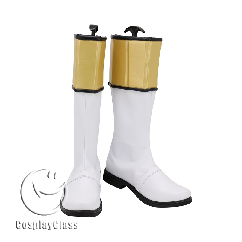 Cosplay Shoes White Tigerzord Tommy Cosplay Shoes Boots