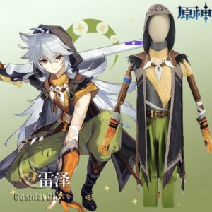 Genshin Impact Razor Cosplay Costume - CosplayClass